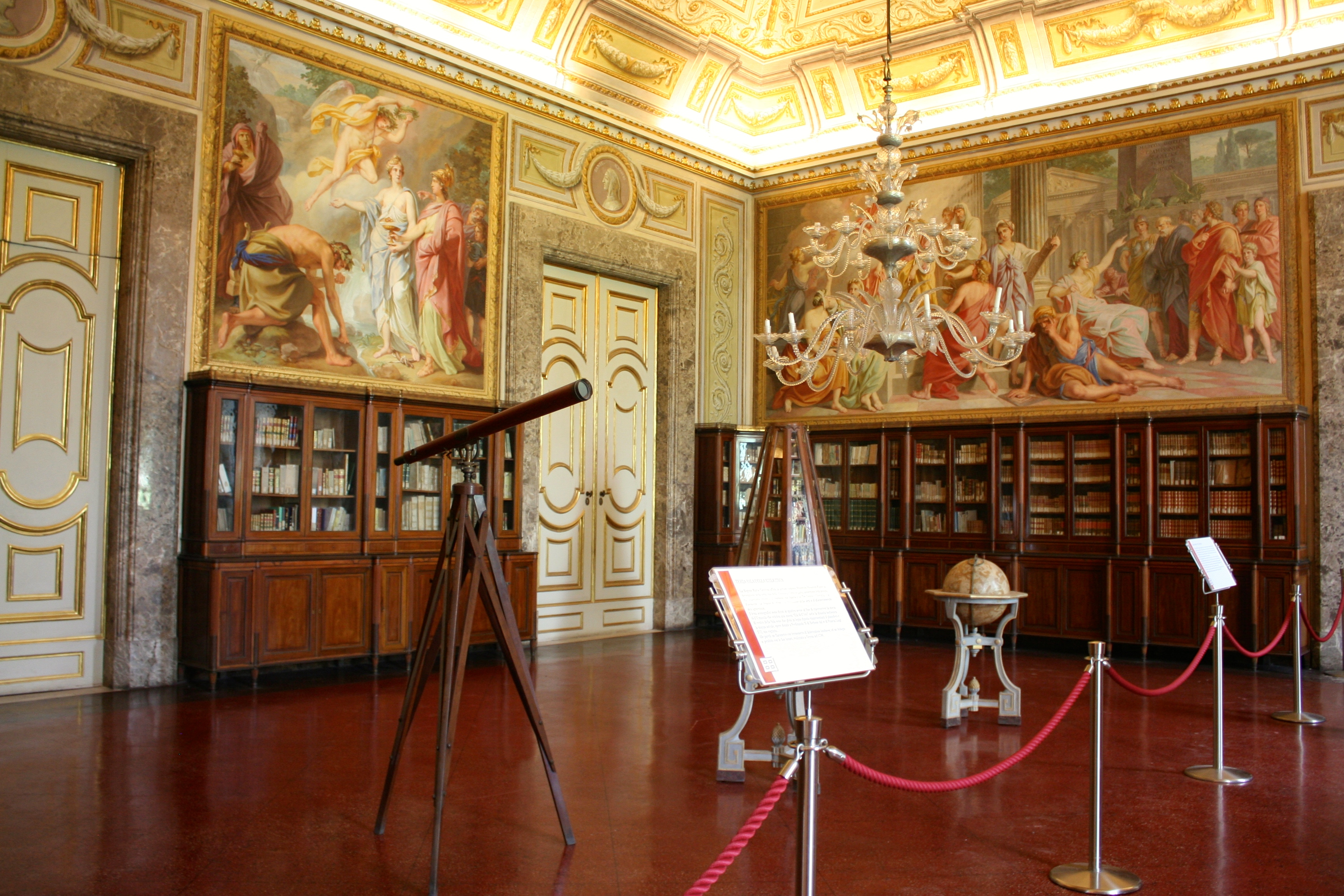 The third room of the library