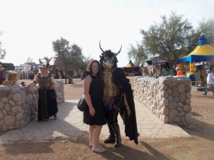 Flicker Fire and Me at RenFaire