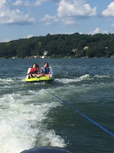 tubing on candlewood lake